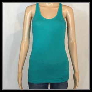 PINK Victoria's Secret Turquoise Sleepwear Tank